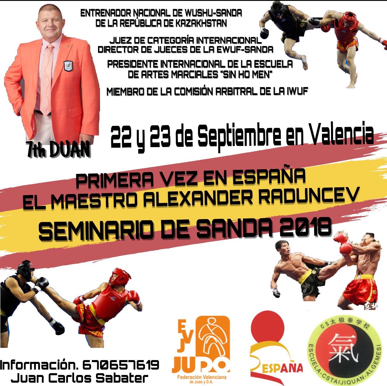 SEMINARIO DE SANDA (22 Y 23-09-2018)