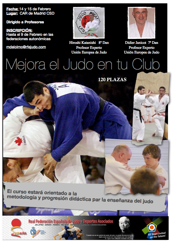 Cartel Judo
