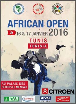 Cartel African Open Judo Tunez
