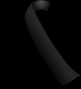 lazo-negro-vector
