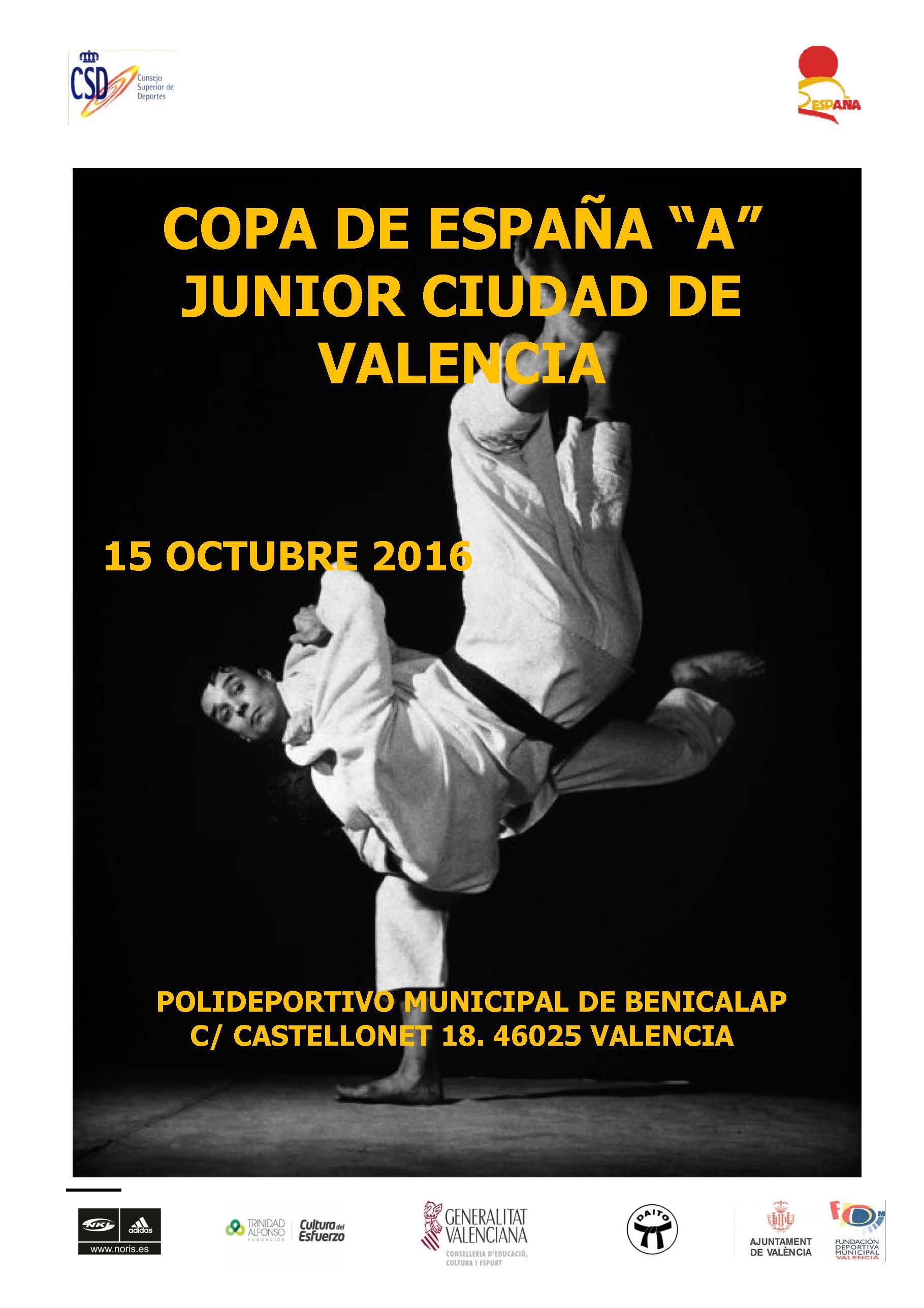 CIRCULAR COPA DE ESPAÑA JUNIOR A 2016