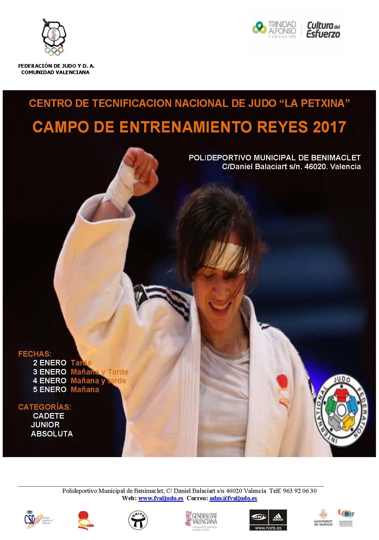 POSTER CAMPO DE ENTRENAMIENTO REYES 2017 JULIA